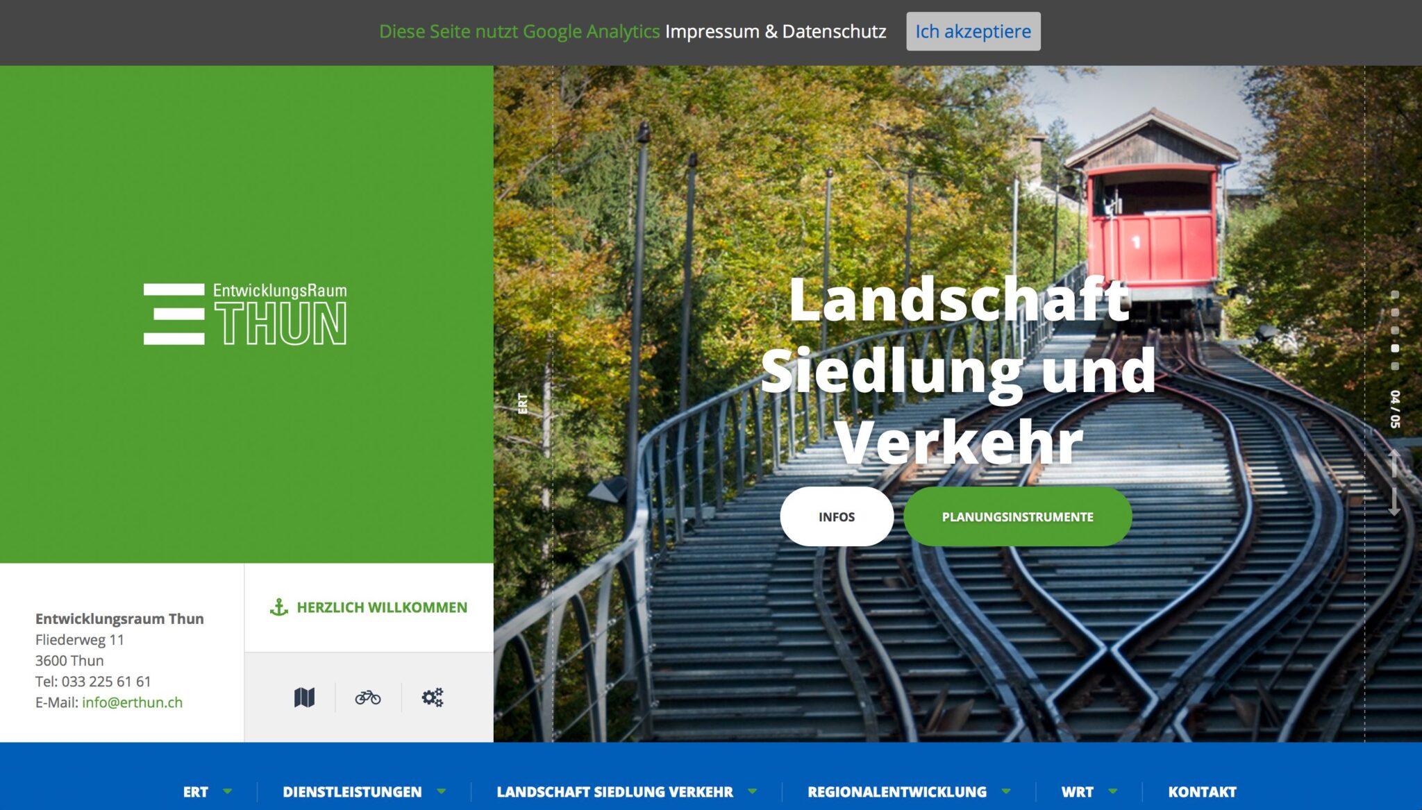 ERT Landschaft Siedlung & Verkehr