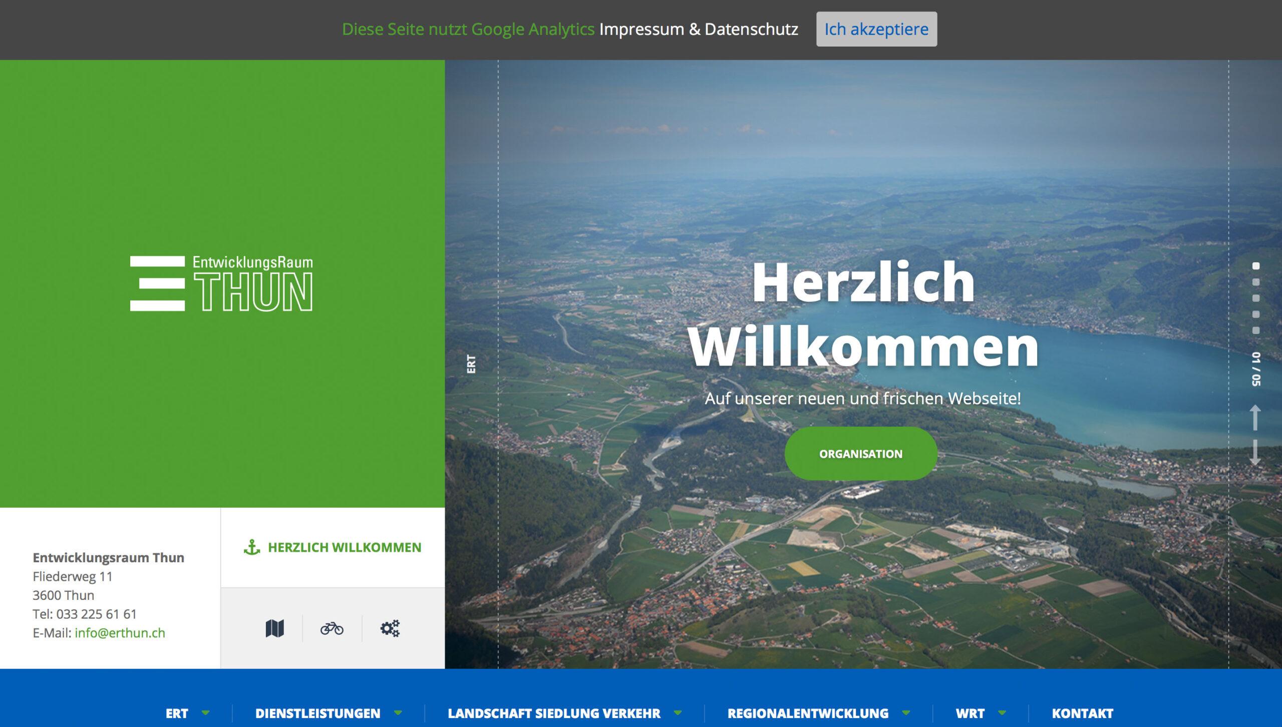 ERT Homepage